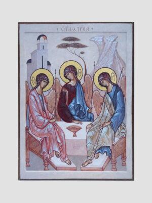"""Икона """"Святая Троица"""" (М.Шешуков)"""