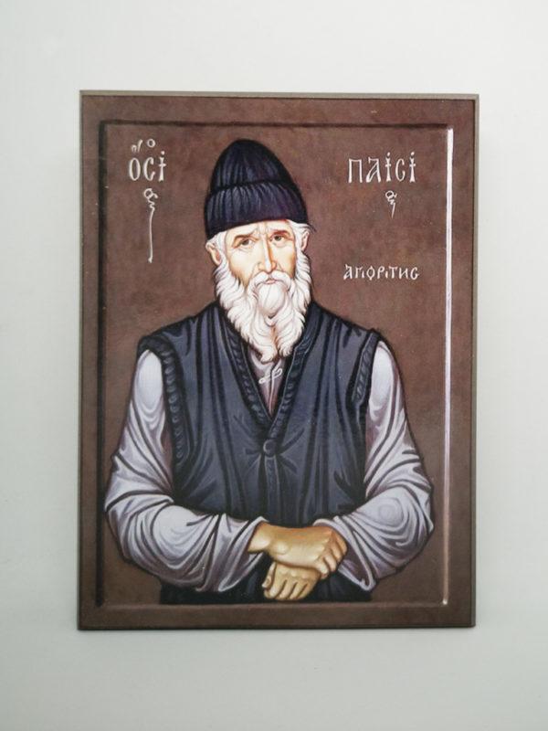 Икона Паисия Святогорца Шешуков