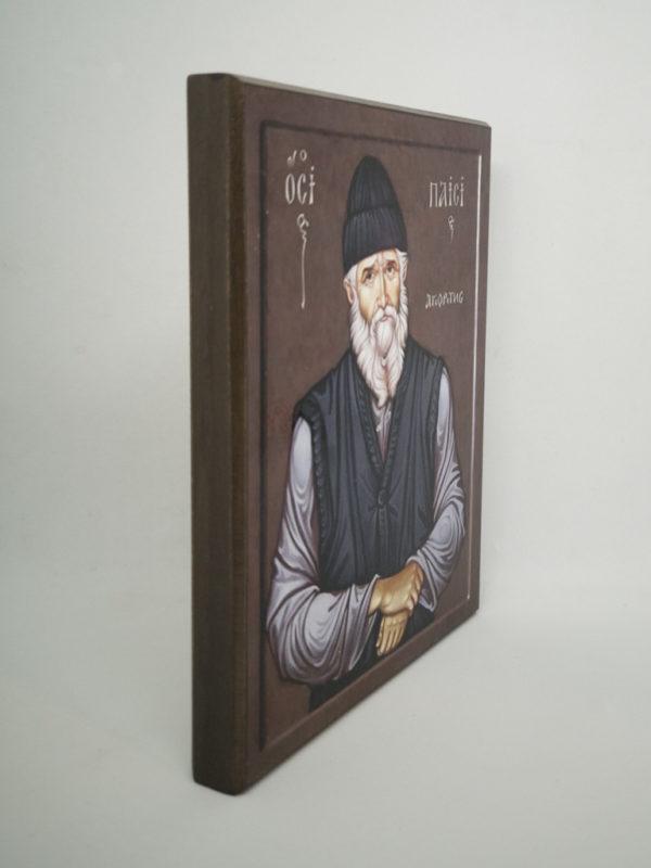 Икона Паисия Святогорца Шешуков боковина