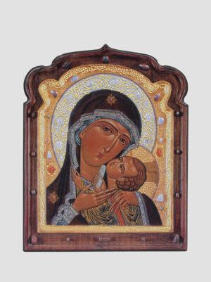 Касперовская икона Божией Матери, фигурная, Сергей Вандаловский