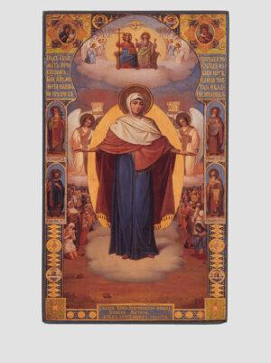 Икона Божией Матери Всех скорбящих Радость, Киево-Зверинецкая