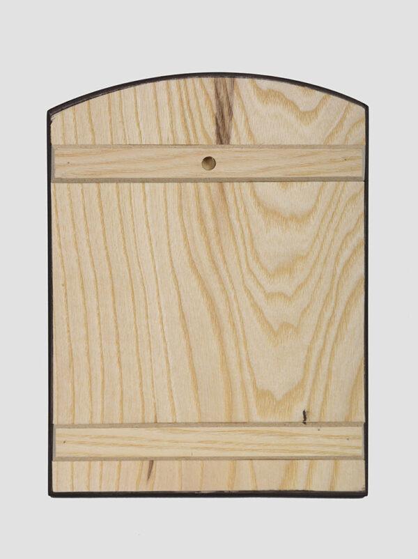 Икона Покров Пресвятой Богородицы (Сергей Вандаловский) задняя стенка