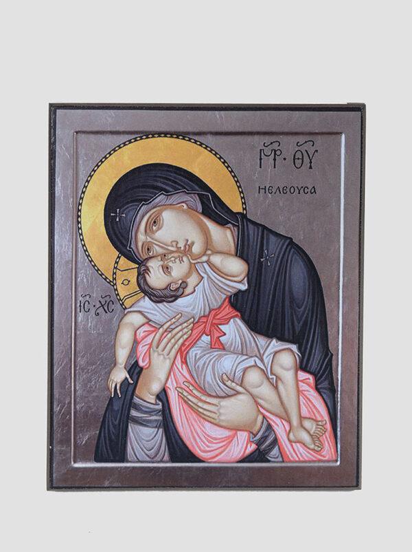 Икона Божией Матери Гликофилуса Сладкое лобзание