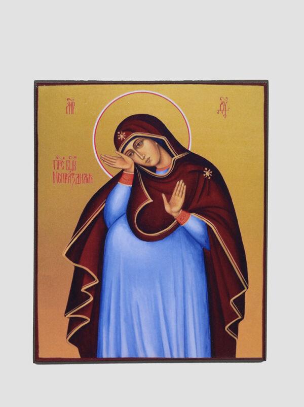 Икона беременной Богородицы Непраздная