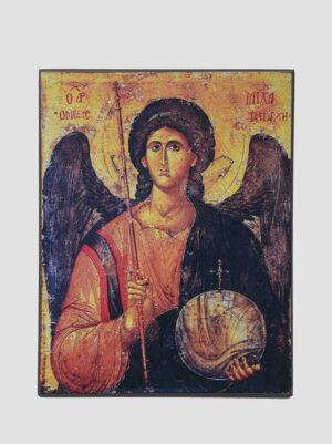 Архангел Михаил (икона XIV века, Византия)