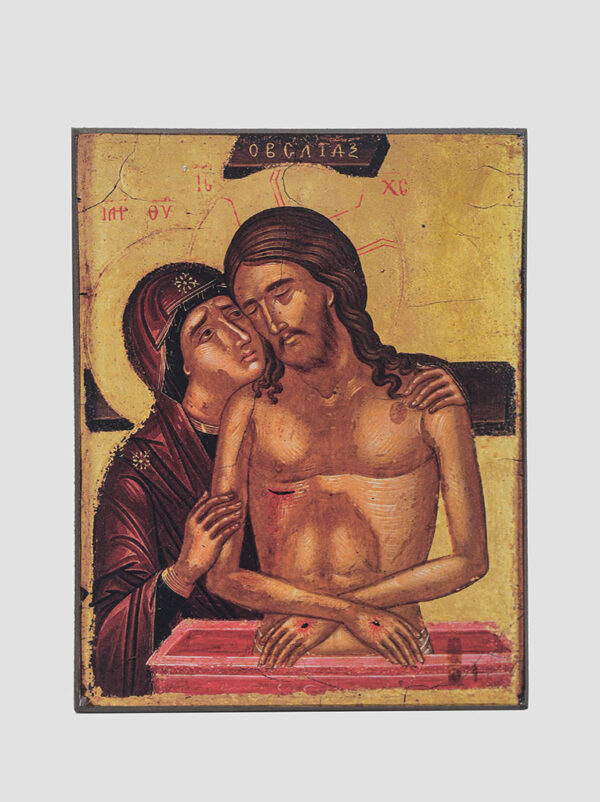 """Не рыдай Мене, Мати"" икона Божией Матери, XVI век"