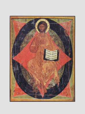 "Икона ""Спас в Силах"", XV век"