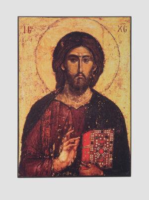 "Икона ""Спас Пантократор"" (Хиландарский), XIII век"