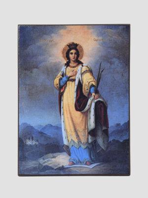 Св. Екатерина (изображение нач. XX века)
