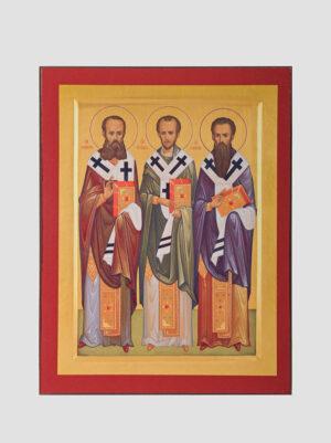 Три Святителя: Григорий Богослов, Иоанн Златоуст, Василий Великий