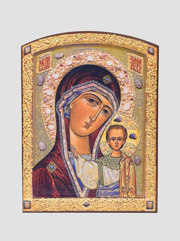 Пара венчальная с Казанской иконой Богородицы (С.Вандаловский) Богородица