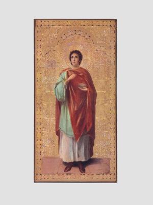 Св. Пантелеимон Целитель (ростовая икона)
