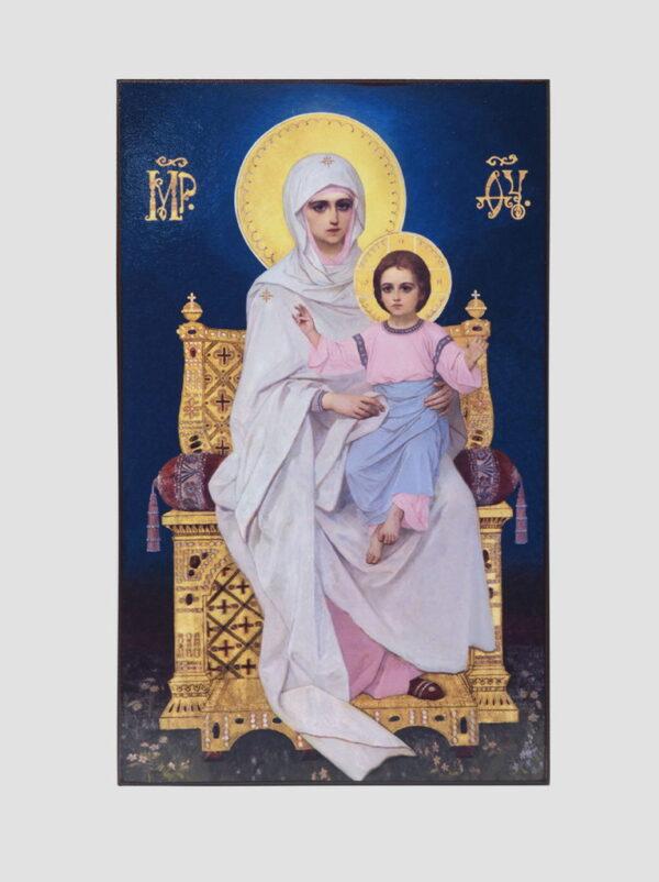 Пара венчальная с иконой Божией Матери с Младенцем (иконостас Трапезного храма, Киево-Печерская лавра) Богородица