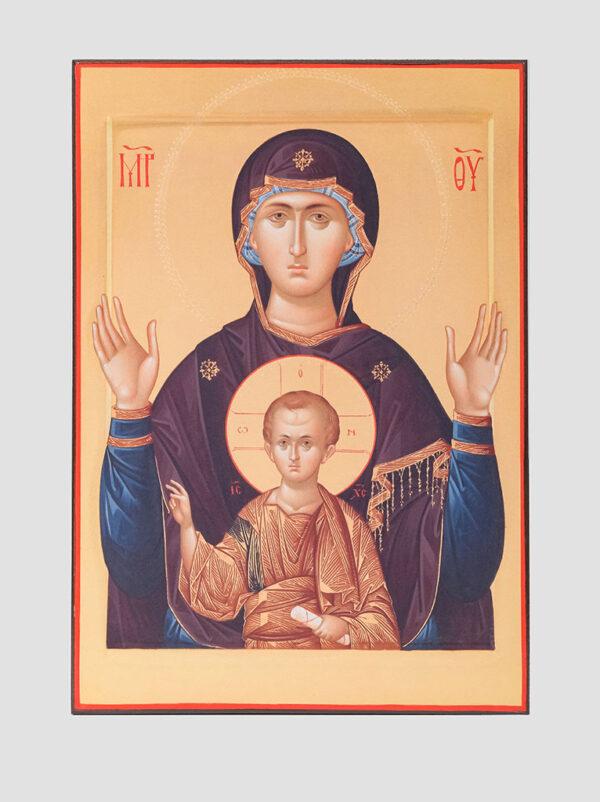 """Пара венчальная с иконой Божией Матери """"Знамение"""" Богородица"""