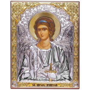 Ангел Хранитель (икона серебряная)