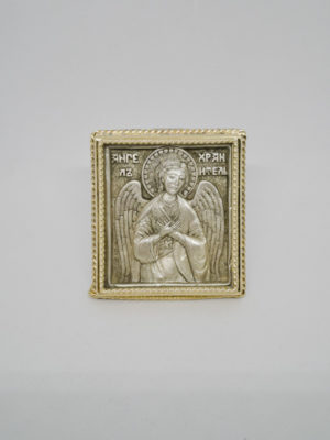 Ікона Ангел Охоронець позолота поясна
