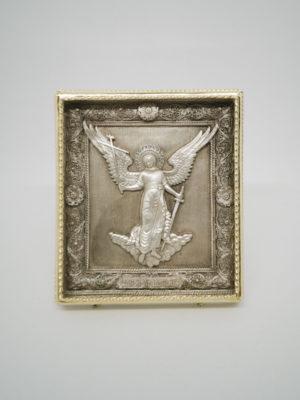 Ікона мідна Ангела Охоронець ростова