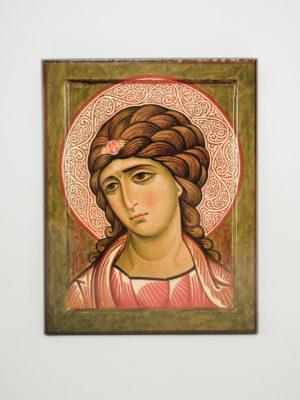 Ікона Ангел Охоронець Золоте Волосся