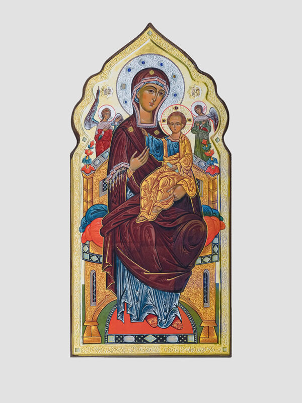 """Пара вінчальна з іконою Божої Матері """"Всецариця"""" (С.Вандаловський) Богородиця"""