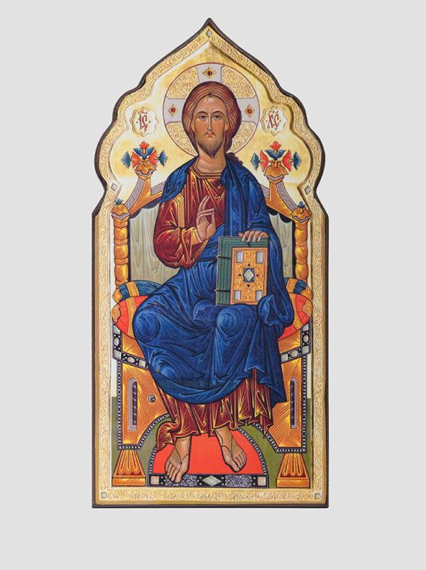 """Пара вінчальна з іконою Божої Матері """"Всецариця"""" (С.Вандаловський) Ісус Христос"""