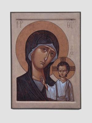 Казанська ікона Божої Матері Максима Шешукова