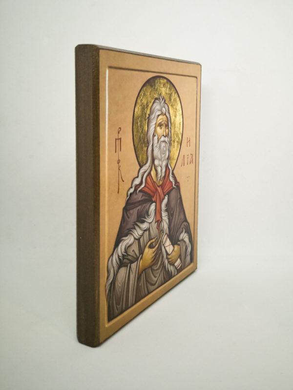 Ікона Пророк Ілля Шешуков боковина