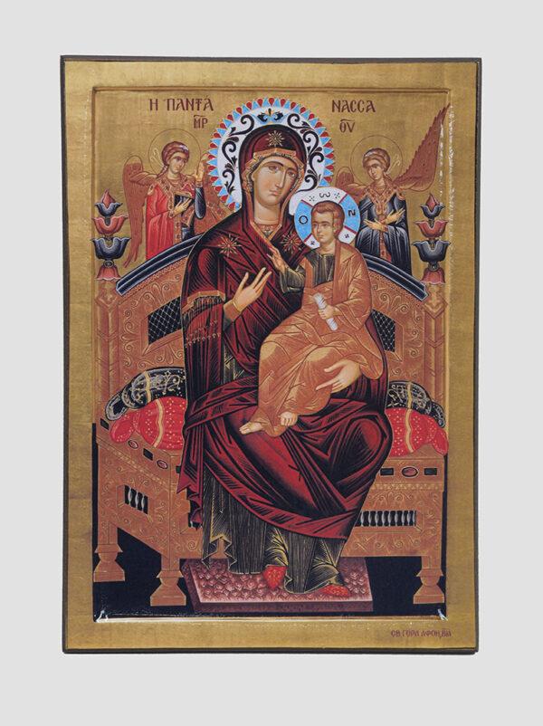 """""""Всецариця"""" ікона Божої Матері («Пантанасса»)"""