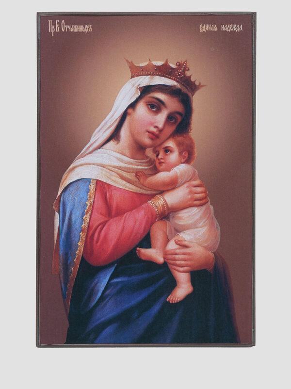 """Ікона Божої Матері """"Зневірених Єдина Надія"""""""
