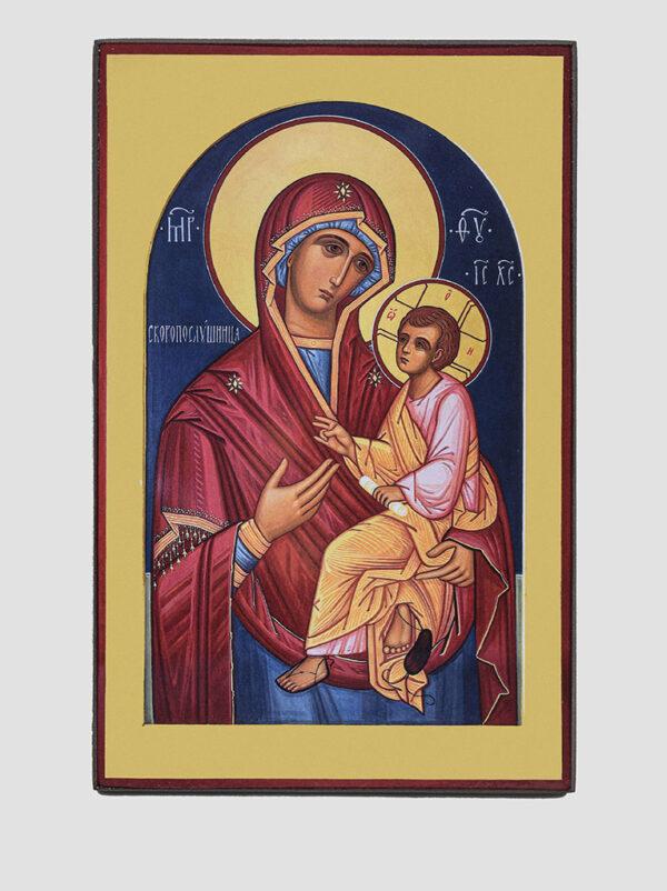 """""""Скоропослушниця"""" ікона Божої Матері"""