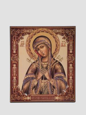 """Ікона Божої Матері """"Пом'якшення злих сердець"""""""