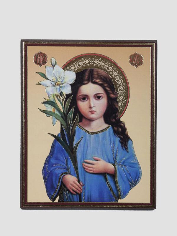 """""""Трилітствуюча"""" ікона Божої Матері"""