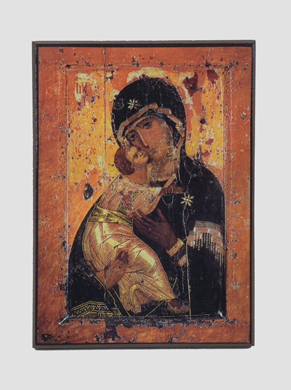 """""""Володимирська"""" ікона Божої Матері, XII ст."""