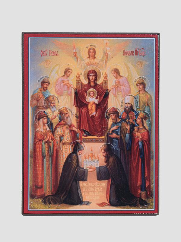 """""""Похвала Пресвятої Богородиці"""" ікона Києво-Печерська"""