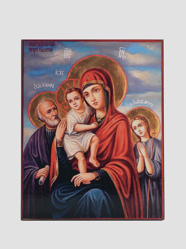 """""""Три Радості"""" ікона Божої Матері"""