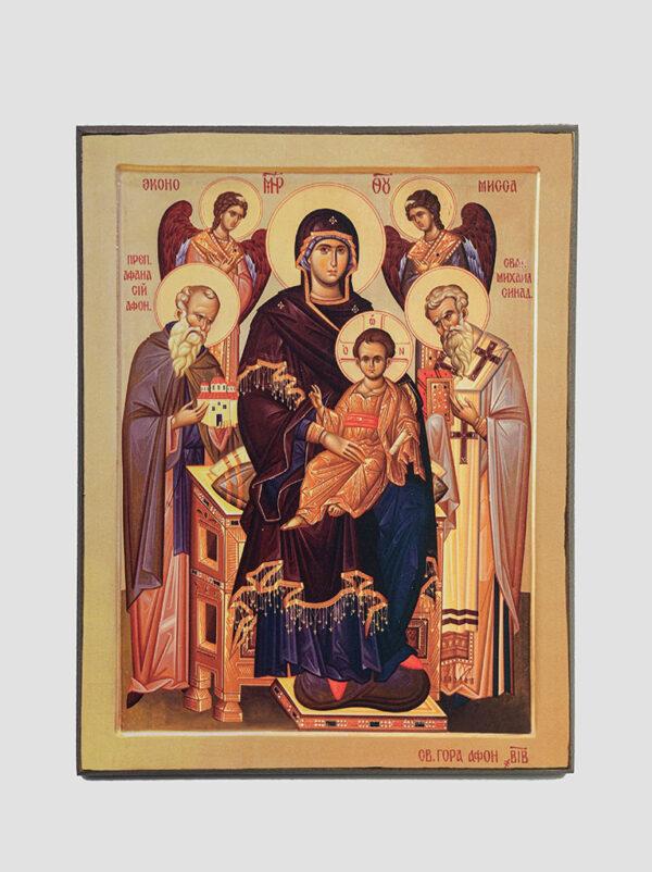"""""""Економісса"""" або «Домобудівниця» ікона Божої Матері"""