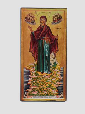 """""""Ігуменя Святої Гори Афонської"""" ікона Божої Матері"""