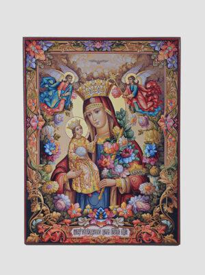 """Ікона Божої Матері """"Нев'янучий цвіт"""""""