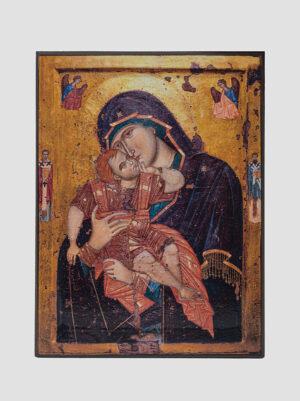 """Глікофілуса"" (""Солодке цілування"") Афонська ікона Божої Матері"