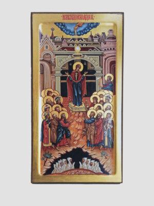 «Непрохідні двері» ікона Божої Матері