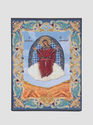 """""""Спорительниця хлібів"""" ікона Божої Матері (голуба)"""
