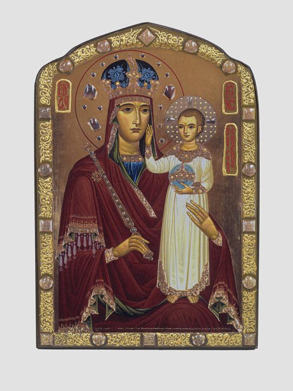 """""""Зглянься на смирення"""" ікона Божої Матері (О.Малінка)"""