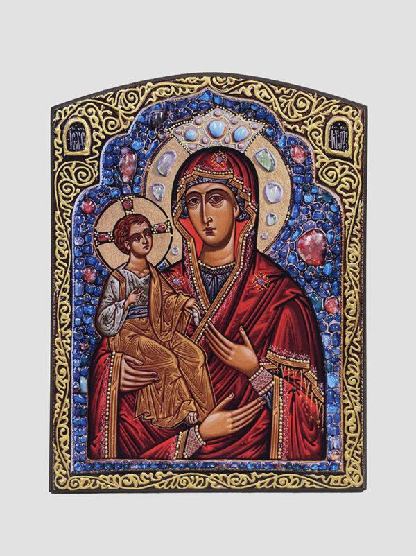 """""""Троєручиця"""" ікона Божої Матері (С.Вандаловський)"""