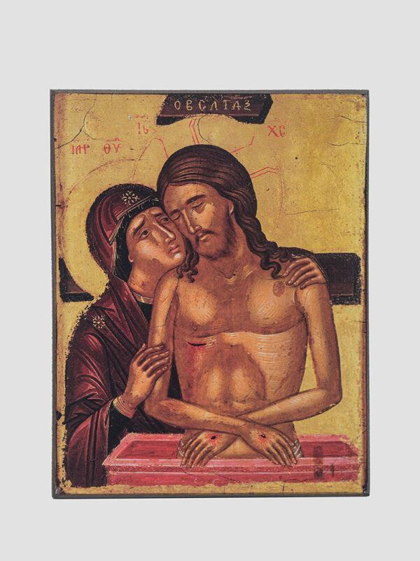 """""""Не оплакуй Мене, Мати"""" ікона Божої Матері XVI століття"""