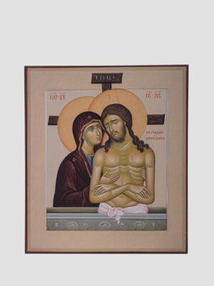 """""""Не оплакуй Мене, Мати"""" ікона Божої Матері"""
