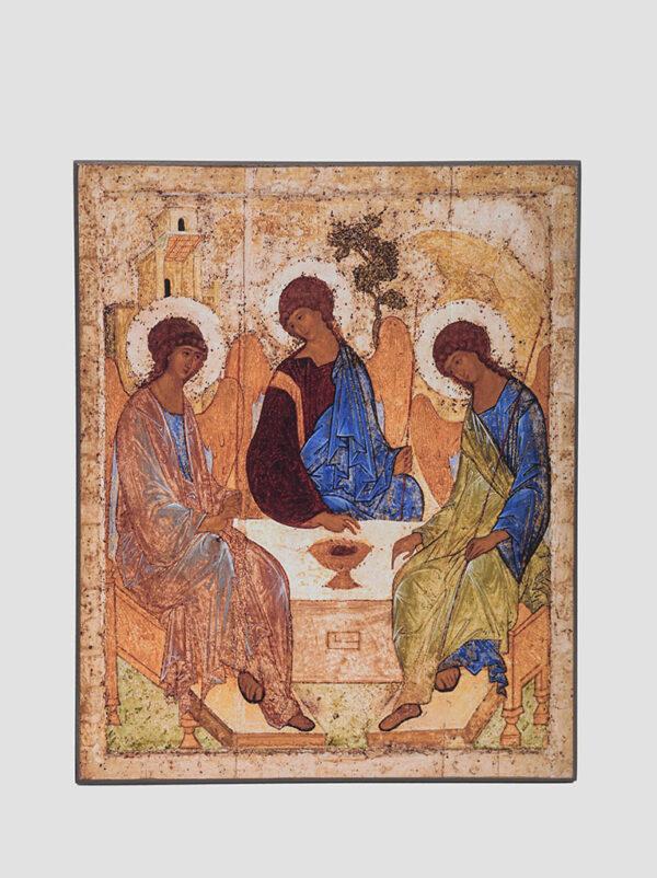 """Ікона """"Трійця"""" (А. Рубльов)"""