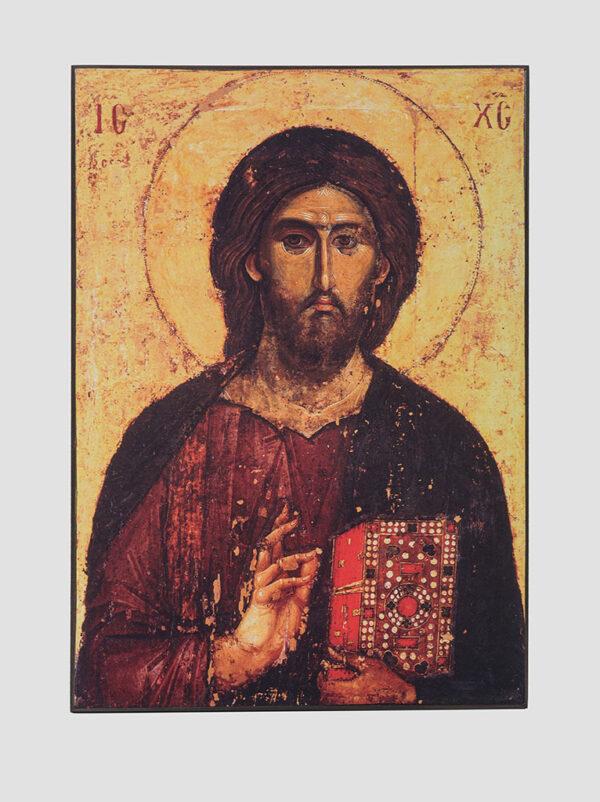 """Ікона """"Христос Пантократор"""" (Хіландарський), XIII ст."""