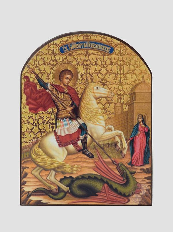 Св. Георгій Побідоносець (Чудо Георгія про змія)