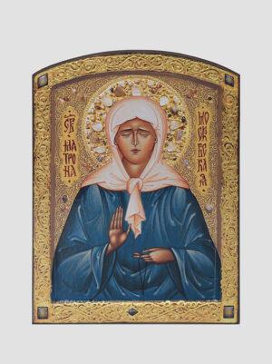 Св. Матрона Московська (ікона з ручним розписом)