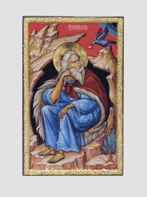 Св. Ілля пророк з вороном (С.Вандаловський)