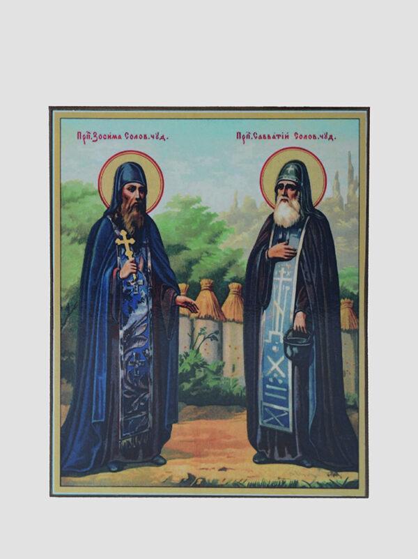 Свв. Зосима і Саватій Валаамські